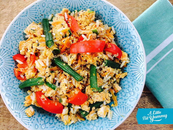 Easy Salmon Fried Rice Recipe