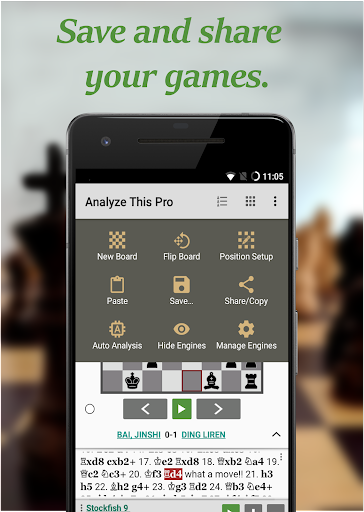 Chess - Analyze This (Free)  screenshots 2
