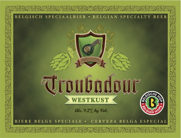 Logo of Musketeers Troubadour Westkust