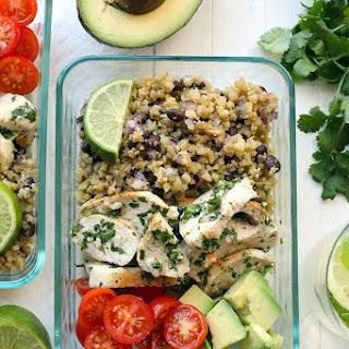 Cilantro Lime Chicken with Cauliflower Rice Recipe
