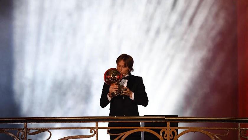 Luka Modric gana el Balón de Oro 2018.