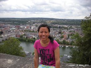Photo: Dhoma, Vue sur Jambes de la Citadelle, Juillet 2010