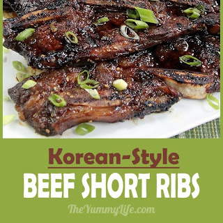 Korean Short Ribs.