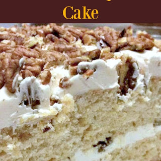 Pecan Maple Cake Recipe