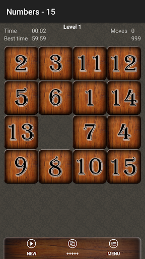 Smart Fifteen Puzzle - screenshot