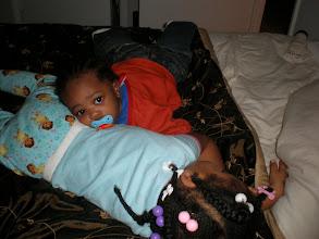 Photo: saturday morning and the sleepy kids lay around