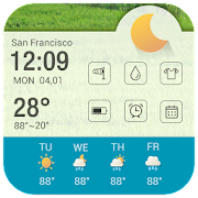 Calendar alarm clock weather 3.0.1_release Icon
