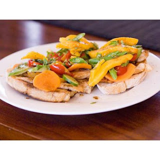 Chicken Breasts With Italian Dressing.