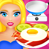 Breakfast Cooking And Serving Game