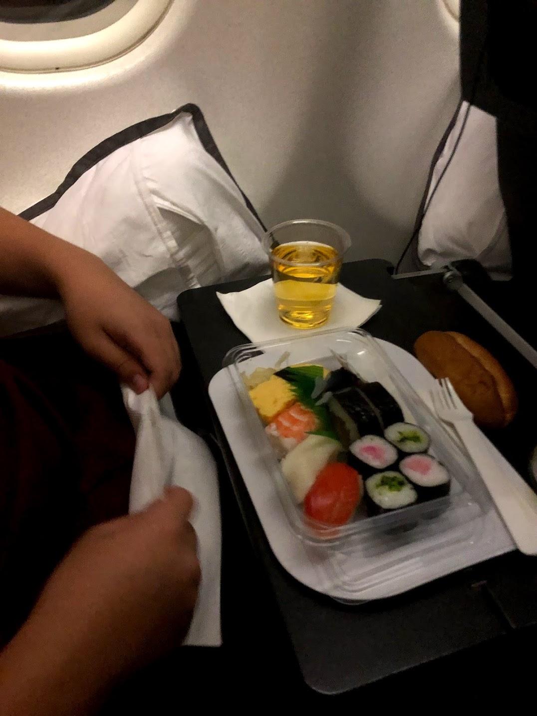 飛行機寿司
