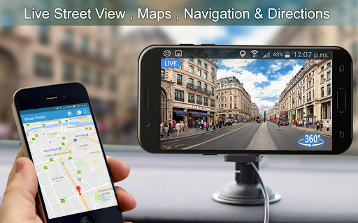 Live Street View: Live Earth Map Navigation for PC