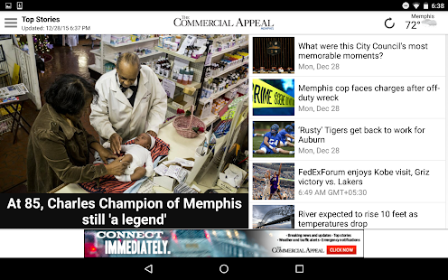The Commercial Appeal- screenshot thumbnail
