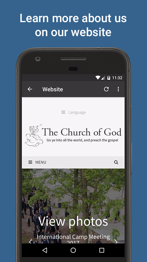 Church of God Services Live- screenshot