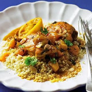 Chicken Tagine With Apricots.