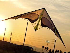 Photo: Prism E3 at Silverbowl Park, CA. Photo taken with our little Canon Elph near sunset.