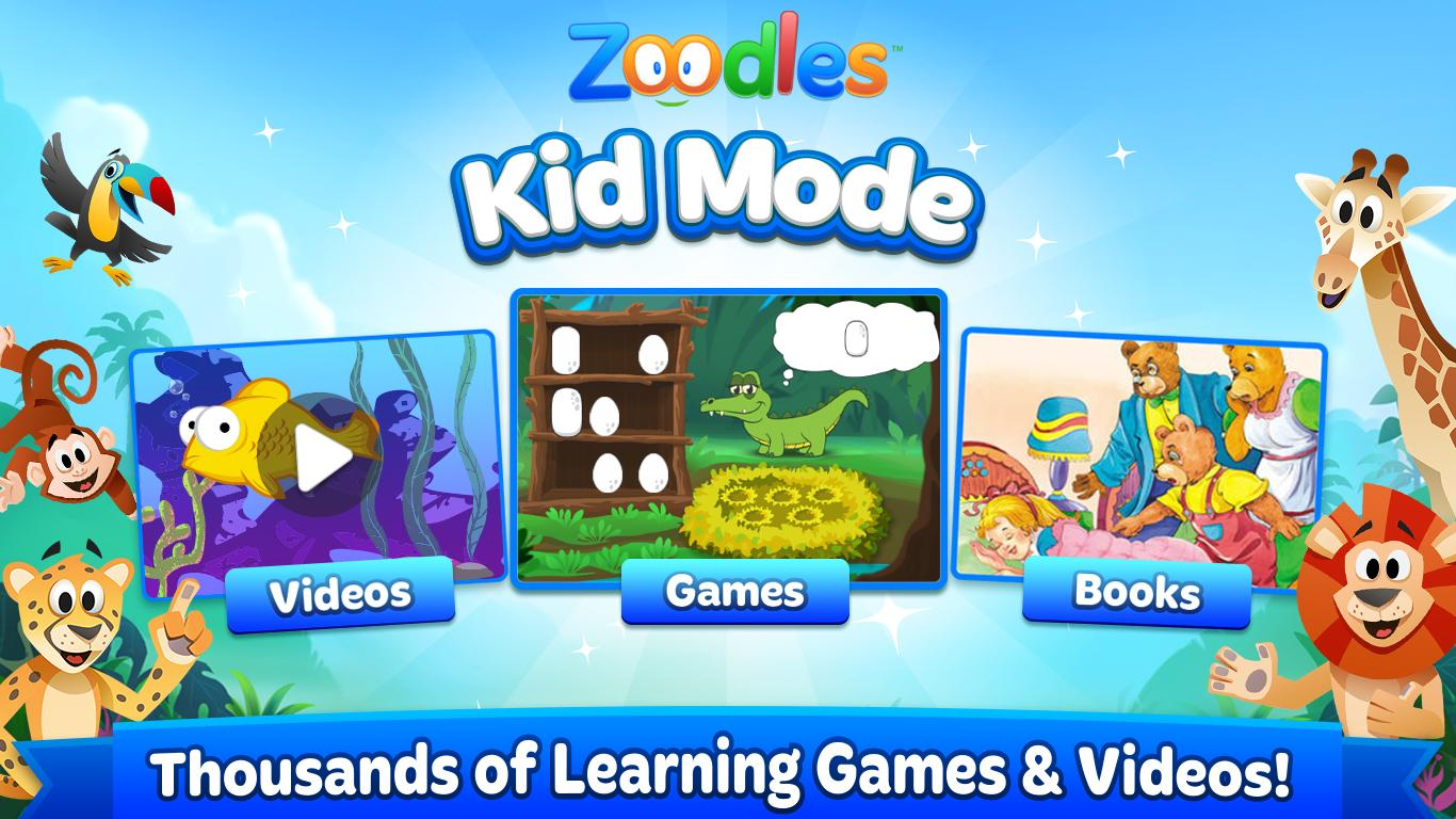 Kid Mode: Free Learning Games- screenshot