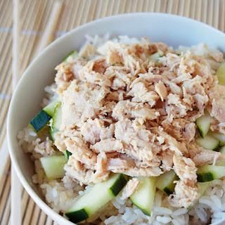 Tuna Rice Bowl.