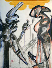 "Photo: The Last Dance, 2005 Acrylic on archival synthetic paper 61.125"" x 51.25"" $12,000"