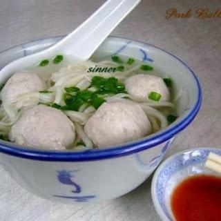 Chu Yoke Yuen ~ Bouncy Pork Balls.