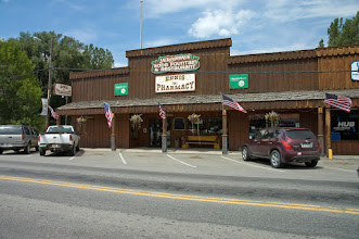 Photo: Downtown Ennis- Mad River Outfitters Montana Trip