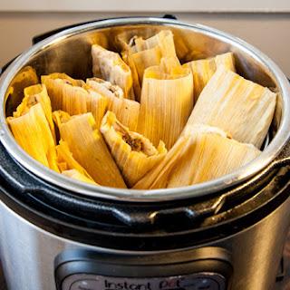 Instant Pot Tamales.