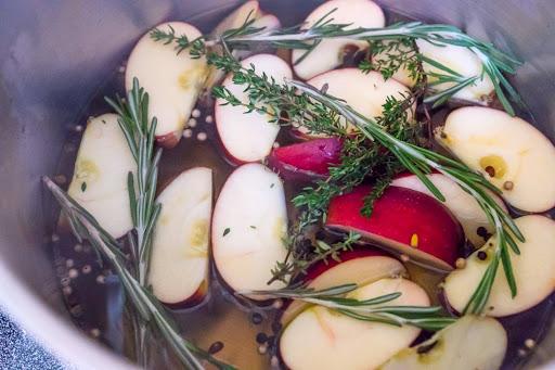 Apple-Herb Brined Turkey