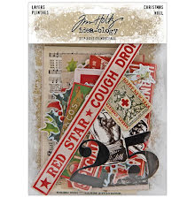 Tim Holtz Idea-Ology 31/Pkg - Layers Christmas 2020