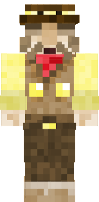 Original skin: https://www.planetminecraft.com/skin/flint-from-mother-3-4334814/