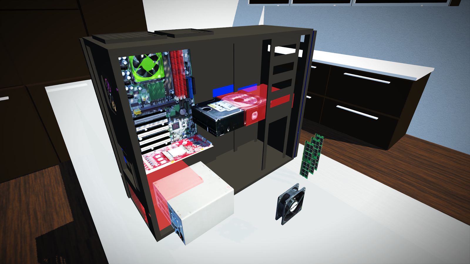 PC Building Simulator- screenshot