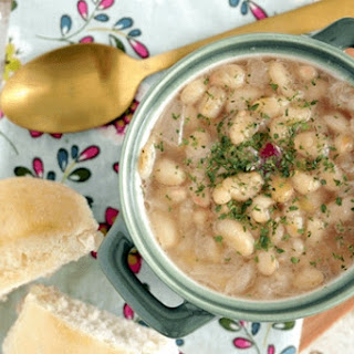 My Mom'S Navy Bean Soup Recipe