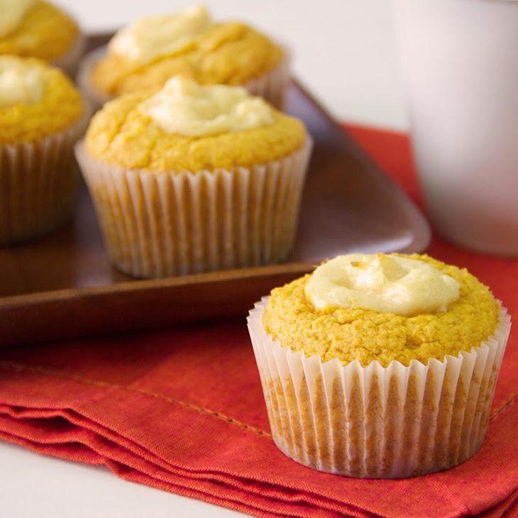Cream Cheese Stuffed Pumpkin Muffins Recipe