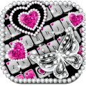 Shiny Diamond Butterfly Keyboard icon
