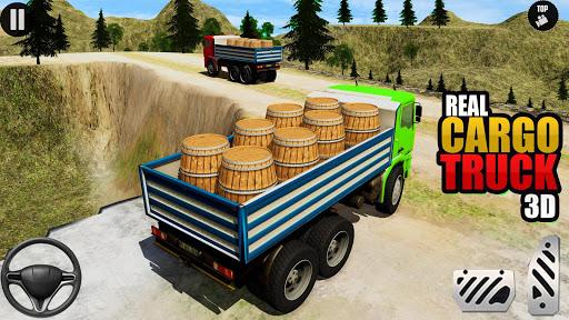 3D Euro Truck Driving Simulator - Real Cargo Game screenshots 5