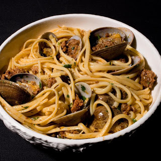 Linguine with Clams and Chorizo