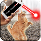 Laser for cat icon