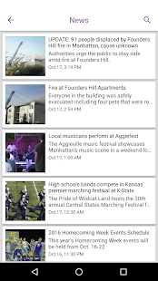K-State Collegian- screenshot thumbnail