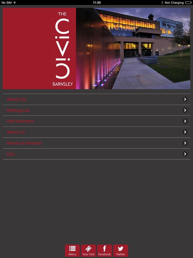 The Civic Barnsley- screenshot