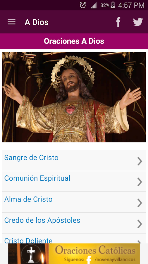 Oraciones Católicas- screenshot