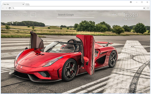 Koenigsegg Cars Backgrounds Hd Custom New Tab