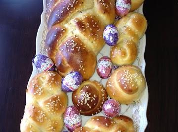 Armenian Sweet Easter Bread Recipe