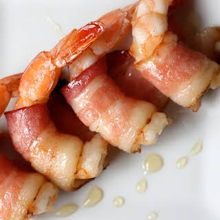 Shrimps in a Blanket.