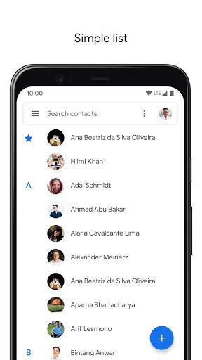 Contacts 3.33.2.335052592 screenshots 2