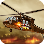 Gunship Helicopter Robot Fighter - Army Air Strike Android APK Download Free By 3CoderBrain Studio