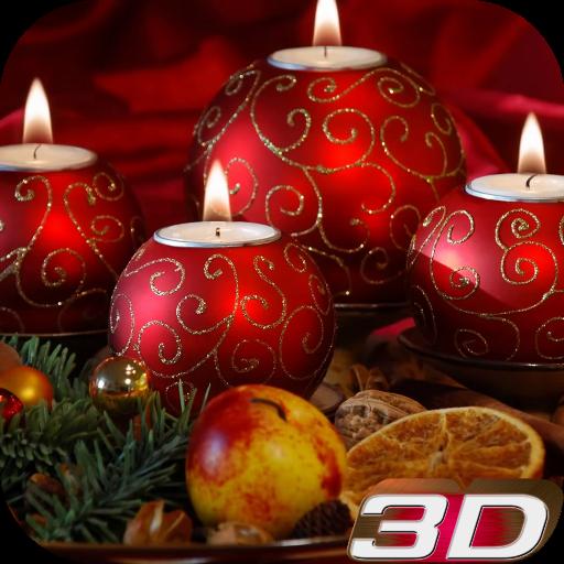 Christmas Candle 3d Wallpaper Aplicaciones En Google Play