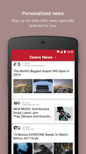 Opera News - Trending news and videos- screenshot thumbnail