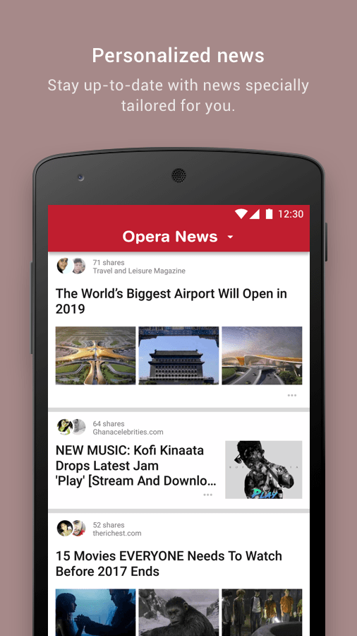 Opera News - Trending news and videos- screenshot
