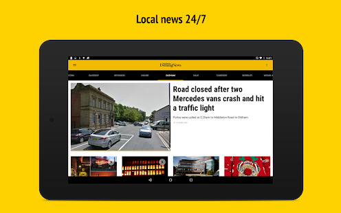 Manchester Evening News- screenshot thumbnail