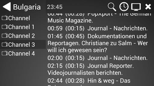 ProgTV Android 2.50.8 screenshots 8