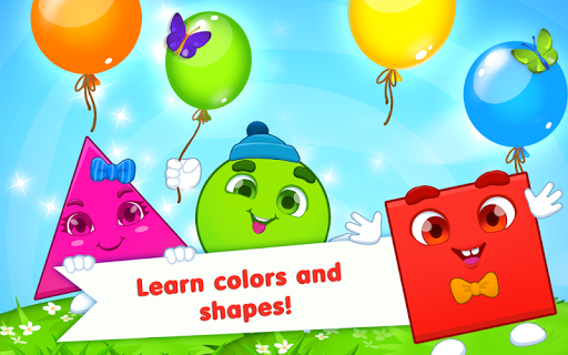 Learning Shapes And Colors For Toddlers: Kids Game App