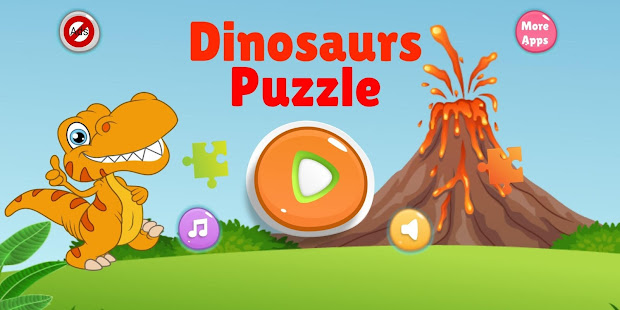 Download Dinosaur Puzzle : Jigsaw kids Free Puzzles game For PC Windows and Mac apk screenshot 1